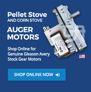 Replacement Pellet & Corn Stove Auger Motors