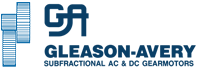Gleason Avery Sub-Fractional Motors Manufacturer Logo